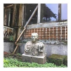 KGPAA Mangkunegara VII marble statue