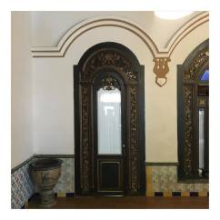 The interior which reflecting the mixed culture of Javanese, Islamic and European