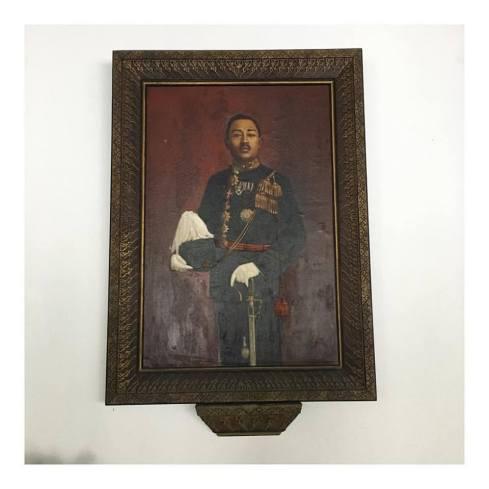 Painting of KGPAA Mangkunegara VII