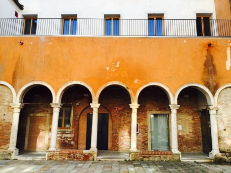 We Crociferi former convent turned student accommodation in Campo dei Gesuiti, Cannaregio, Venezia