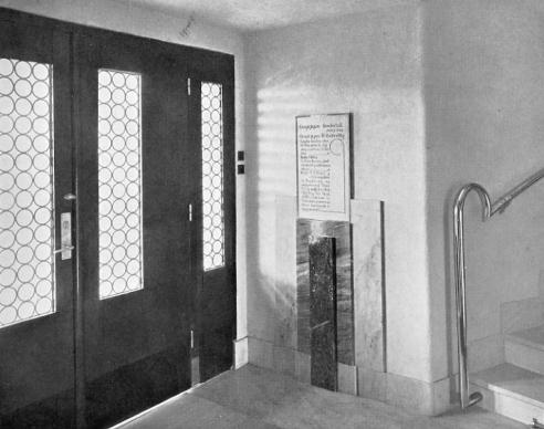 Entrance (front door)