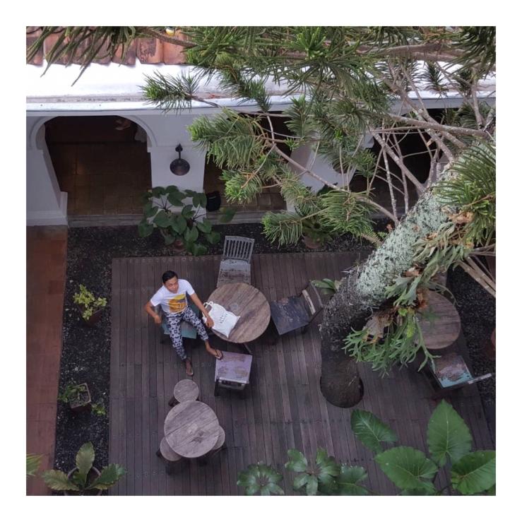 Hotel Adhisthana at Prawirotaman Yogyakarta