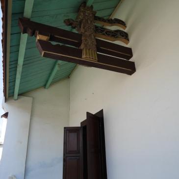 Detail pada atp di rumah di Jalan Gambiran yang akan dijadikan gallery